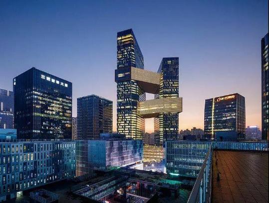 2017微信风景大楼头像